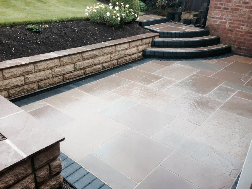 natural stone patio mansfield